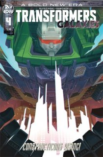 TRANSFORMERS GALAXIES #4 CVR B PITRE-DUROCHER