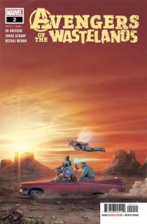 AVENGERS OF THE WASTELANDS #2 (OF 5)