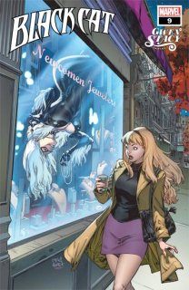 BLACK CAT #9 GOMEZ GWEN STACY VAR【再入荷】