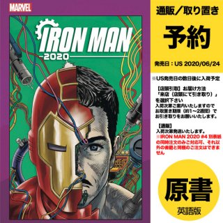 【予約】IRON MAN 2020 #4 (OF 6) SUPERLOG HEADS VAR(US2020年04月08日発売予定)