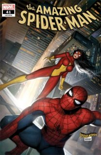 AMAZING SPIDER-MAN #41 BROWN SPIDER-WOMAN VAR