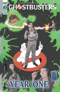 GHOSTBUSTERS YEAR ONE #3 (OF 4) CVR A SHOENING