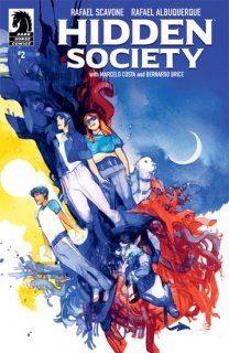 HIDDEN SOCIETY #2 (OF 4) CVR B TOCCHINI