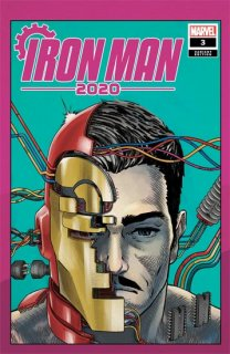 IRON MAN 2020 #3 (OF 6) SUPERLOG HEADS VAR【再入荷】