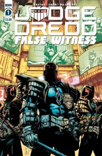 JUDGE DREDD FALSE WITNESS #1 CVR A ZAMA