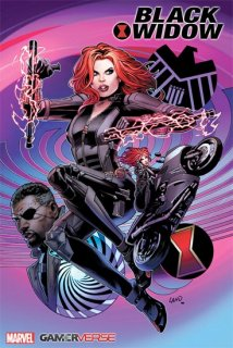 MARVELS AVENGERS BLACK WIDOW #1 LAND VAR