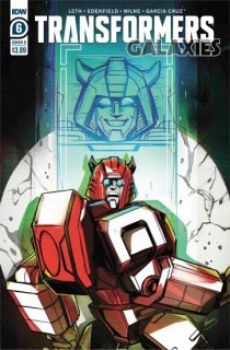 TRANSFORMERS GALAXIES #6 CVR B MCGUIRE-SMITH