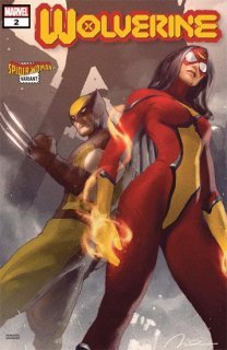 WOLVERINE #2 PAREL SPIDER-WOMAN VAR DX
