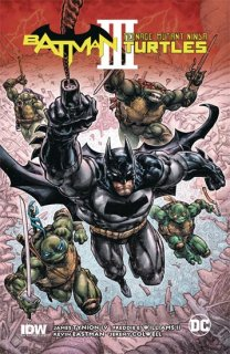 BATMAN TEENAGE MUTANT NINJA TURTLES III HC