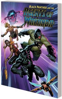 BLACK PANTHER AGENTS OF WAKANDA TP VOL 01 EYE OF THE STORM【再入荷】