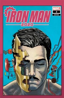 IRON MAN 2020 #2 (OF 6) SUPERLOG HEADS VAR【再入荷】