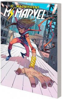 MS MARVEL BY SALADIN AHMED TP VOL 01【再入荷】