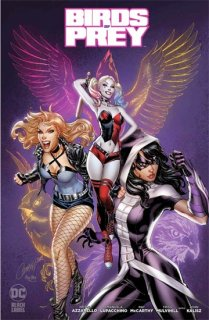 BIRDS OF PREY #1 VAR ED