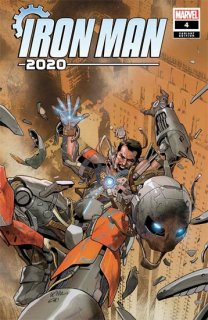 IRON MAN 2020 #4 (OF 6) YU VAR