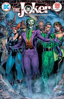 JOKER 80TH ANNIV 100 PAGE SUPER SPECT #1 1970S JIM LEE VAR ED【再入荷】