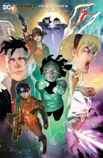 YOUNG JUSTICE #15 BEN CALDWELL VAR ED【再入荷】