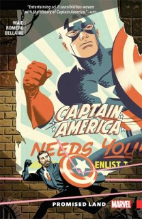 CAPTAIN AMERICA BY MARK WAID TP PROMISED LAND【再入荷】