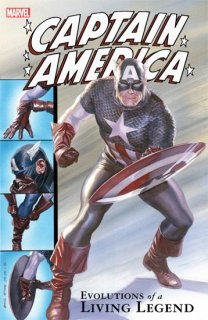 CAPTAIN AMERICA TP EVOLUTIONS OF LIVING LEGEND【再入荷】