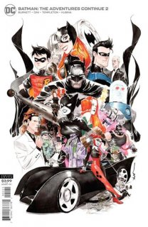 BATMAN THE ADVENTURES CONTINUE #2 (OF 6) DUSTIN NGUYEN VAR E