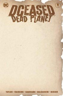 DCEASED DEAD PLANET #1 (OF 6) BLANK VAR ED