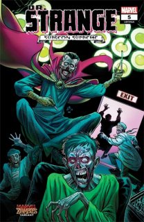 DR STRANGE #5 LUKE ROSS MARVEL ZOMBIES VAR