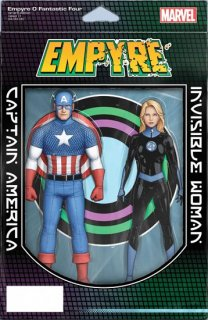 EMPYRE FANTASTIC FOUR #0 CHRISTOPHER 2-PACK ACTION FIGURE VA