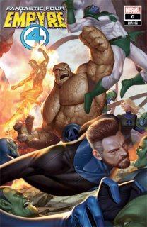 EMPYRE FANTASTIC FOUR #0 INHYUK LEE VAR