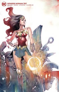 WONDER WOMAN #757 CARD STOCK OLIVIER COIPEL VAR ED【遅延入荷】