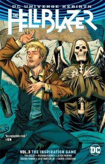 HELLBLAZER TP VOL 03 THE INSPIRATION GAME REBIRTH【再入荷】