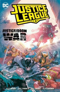 JUSTICE LEAGUE TP VOL 05 JUSTICE DOOM WAR【再入荷】