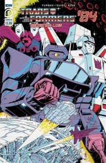 TRANSFORMERS 84 SECRETS & LIES #1 (OF 4) CVR B COLLER