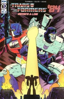 TRANSFORMERS 84 SECRETS & LIES #1 (OF 4) INCV ROCHE
