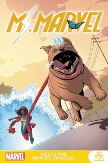 MS MARVEL MEETS MARVEL UNIVERSE GN TP