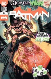 BATMAN #96 JOKER WAR