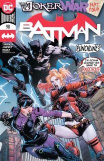 BATMAN #98 CVR A DAVID FINCH (JOKER WAR)