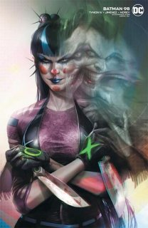 BATMAN #98 CVR B FRANCESCO MATTINA CARD STOCK VAR (JOKER WAR)
