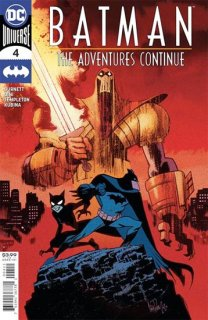 BATMAN THE ADVENTURES CONTINUE #4 (OF 7) CVR A JAMES HARREN