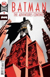 BATMAN THE ADVENTURES CONTINUE #1 (OF 6) 2ND PTG