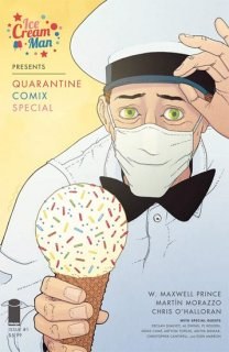 ICE CREAM MAN PRESENTS QUARANTINE COMIX SPEC #1