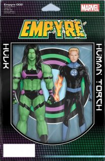 EMPYRE #2 (OF 6) CHRISTOPHER 2-PACK ACTION FIGURE VAR【再入荷】