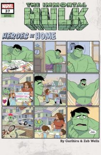 IMMORTAL HULK #37 GURIHIRU HEROES AT HOME VAR