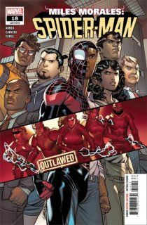 MILES MORALES SPIDER-MAN #18 OUT【遅延入荷】