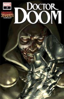 DOCTOR DOOM #7 MERCADO MARVEL ZOMBIES VAR