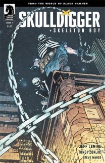SKULLDIGGER & SKELETON BOY #4 (OF 6) CVR B JOHNSON & SPICER