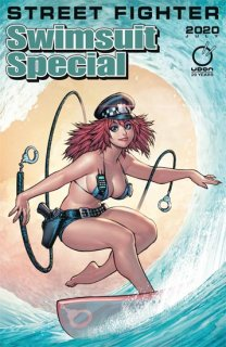STREET FIGHTER 2020 SWIMSUIT SPECIAL #1 CVR A WARREN【遅延入荷】