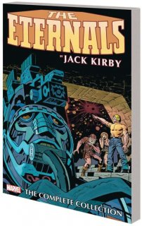 ETERNALS BY KIRBY COMPLETE COLLECTION TP REMASTER CVR【再入荷】