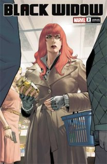 BLACK WIDOW #2 DE IULUS VAR