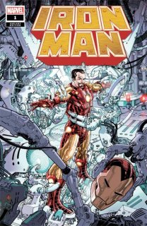 IRON MAN #1 WEAVER VAR【再入荷】