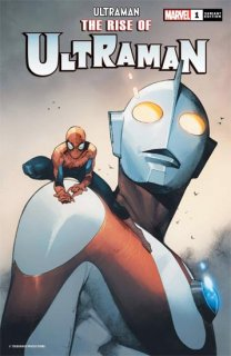 RISE OF ULTRAMAN #1 (OF 5) COIPEL SPIDER-MAN VAR【再入荷】
