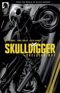 SKULLDIGGER & SKELETON BOY #5 (OF 6) CVR A ZONJIC
